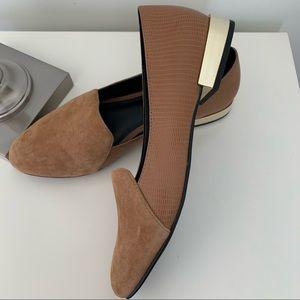 Aldo Caramel coloured loafers size 9